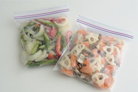 忙しいお母さんには野菜ミックスの手作りで冷凍保存がオススメ