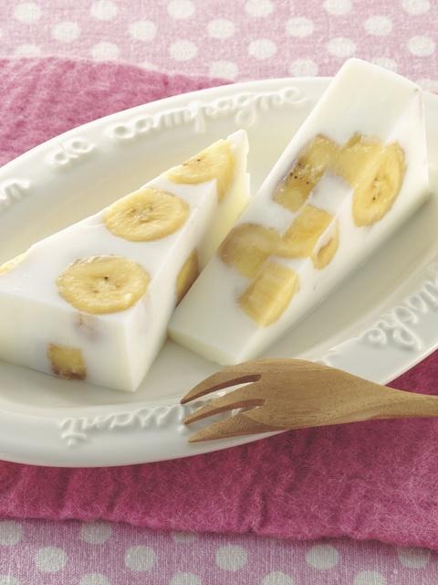 バナナ 牛乳 レシピ