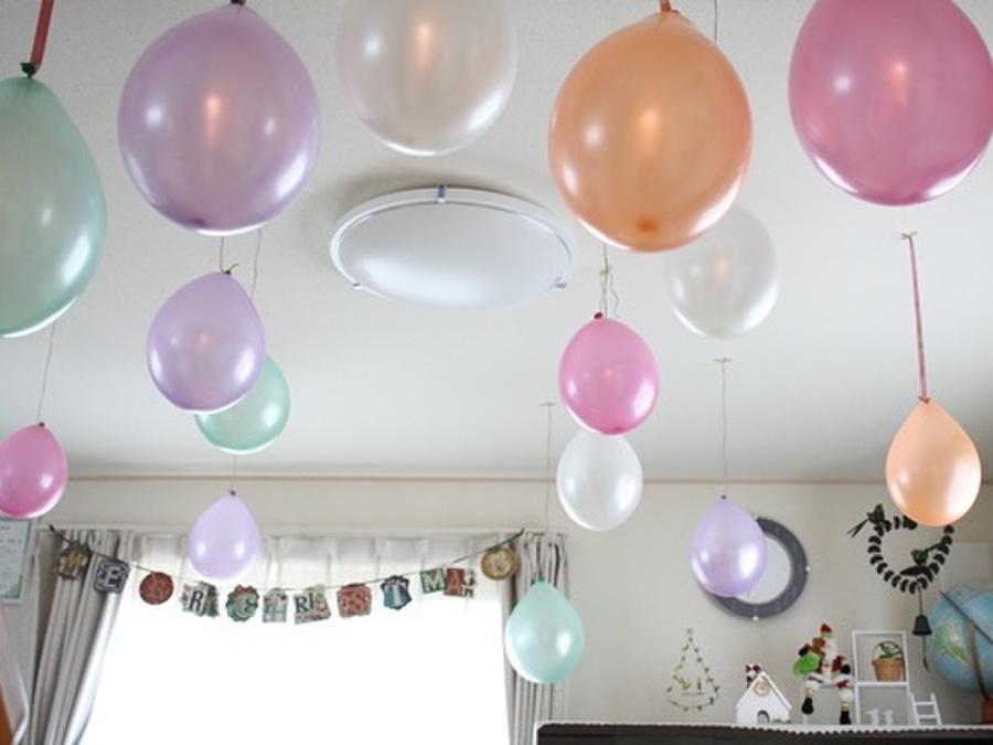 風船 飾り付け 日 誕生
