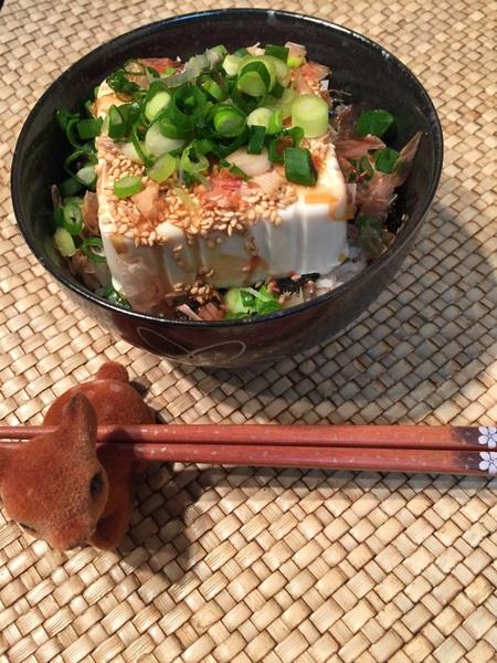 スゴうまヘルシー豆腐丼