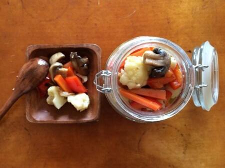 ピクルスよりも食べやすい保存食レシピ「野菜のグレック」
