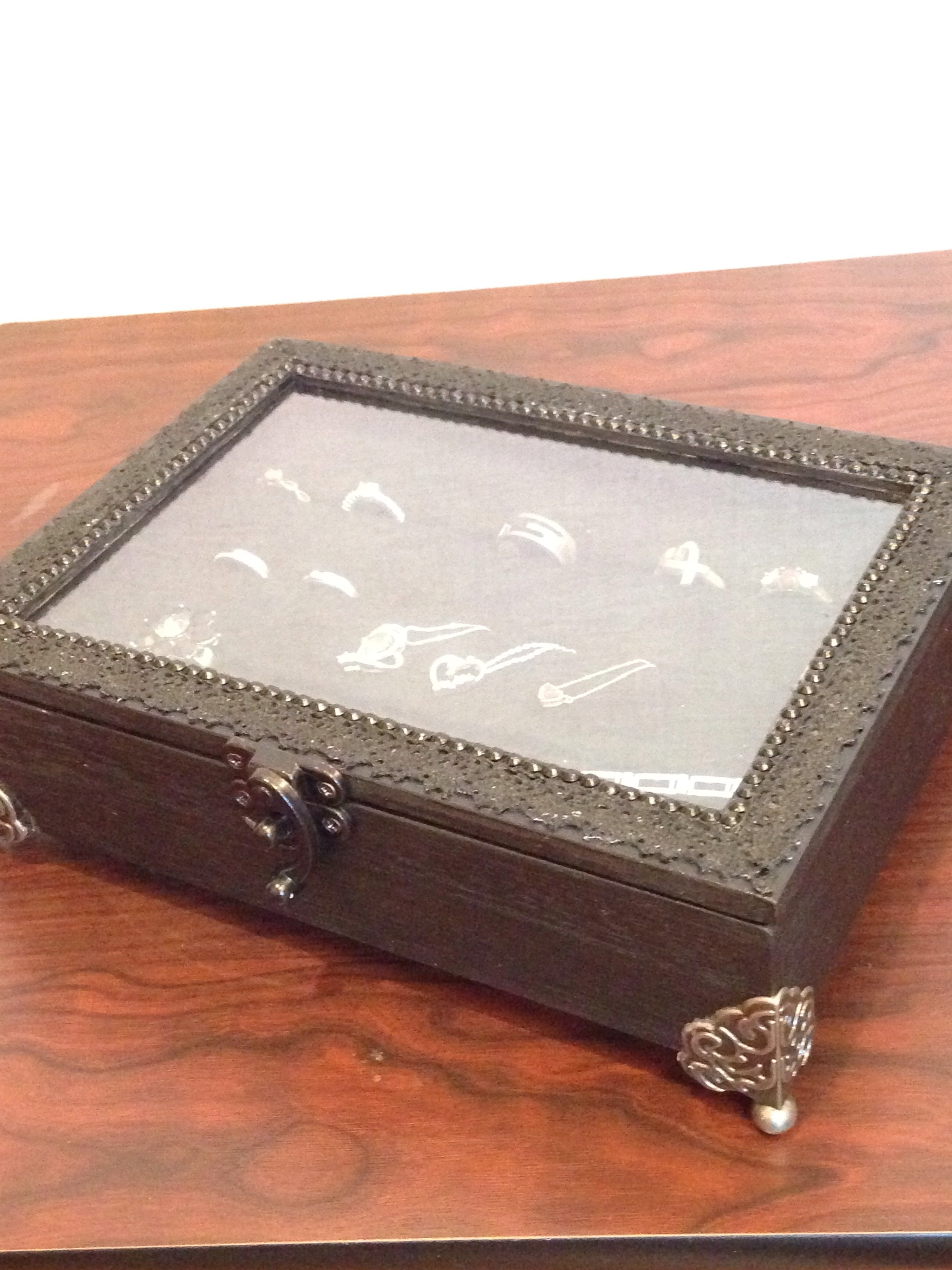 リメイク 誕生日プレゼントに♡手作りアクセサリーボックス