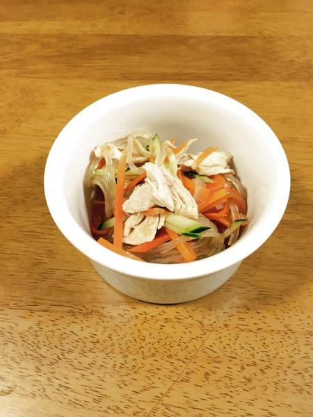 ツルッとサッパリ!ささみの中華サラダのレシピ