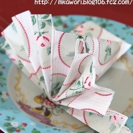 クリスマス 折り紙 紙ナプキン 折り方 : kurashinista.jp