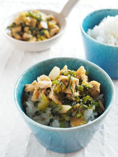 簡単!ご飯がすすむ「かぶと油揚げのふりかけ」のレシピ