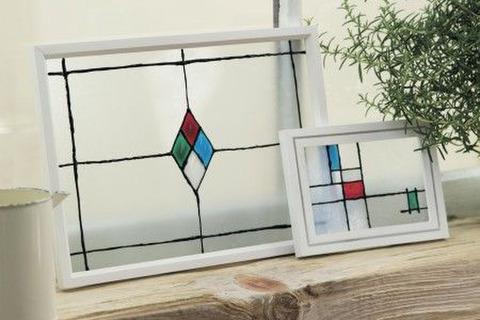 ガラス 絵の具 ステンド グラス