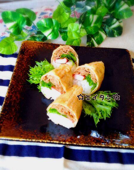 失敗しらずの「焼き肉いなり寿司」のレシピ