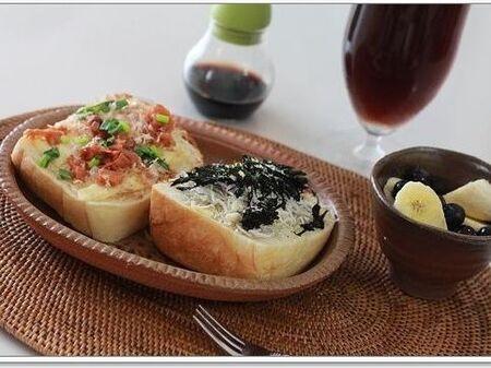 日本人の馴染みの味☆和風ピザトースト