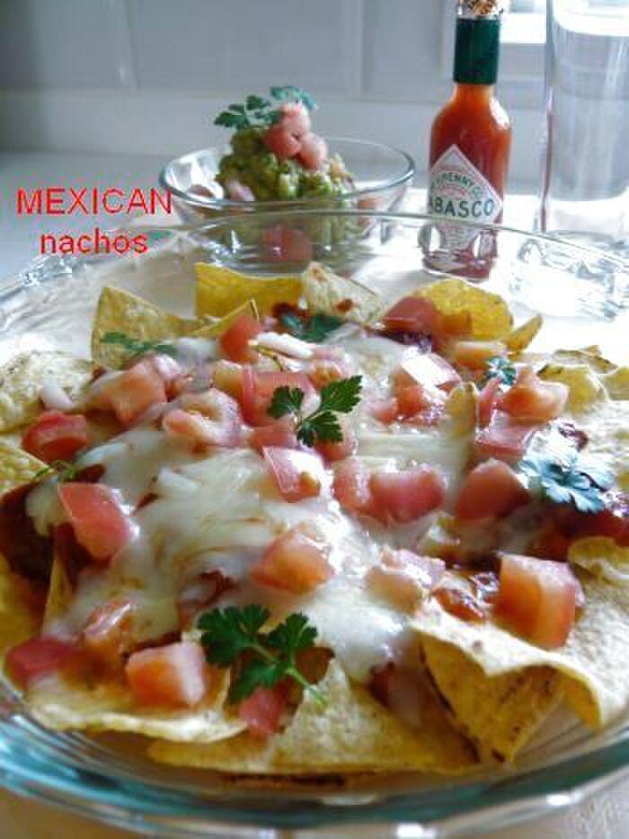 レシピ ナチョス テーブル