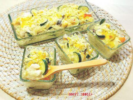 ダイエット停滞期の味方!サクサク&トロトロの高野豆腐とささみの「グラタン」のレシピ
