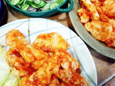 鶏胸肉でも激やわ!冷めても美味い鶏胸肉のケチャップ焼き♪