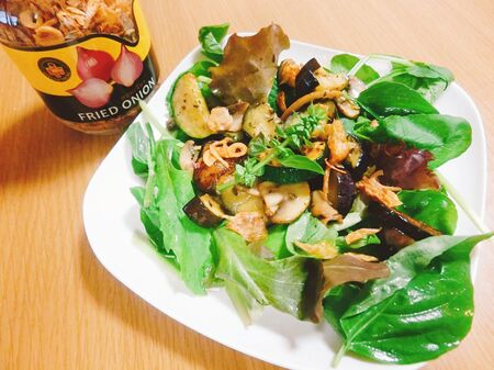 夏野菜とマッシュルームで作る!おしゃれサラダ