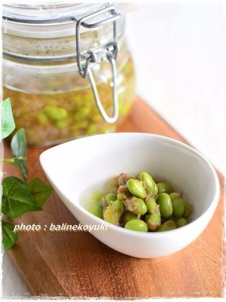おつまみの定番「枝豆」をひと手間かけてもっと美味しく!