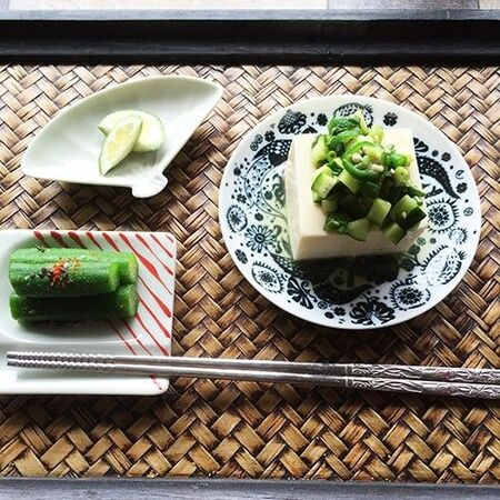 山形だし風 火を使わない夏野菜の3分常備菜