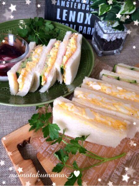 卵サンド&ミックスサンド