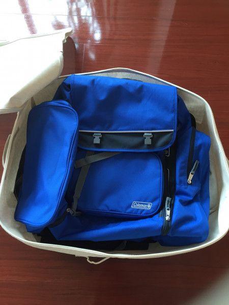 かさばるリュックや旅行バッグ収納には大サイズがフィット