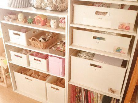 afac86ad73f 子供部屋の上手な収納アイデア39選♪片付けが簡単になるコツ満載 ...