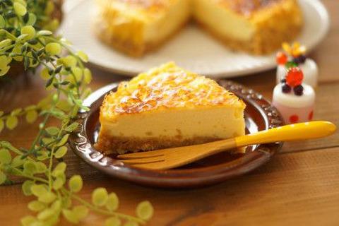 ケーキ ヨーグルト レアチーズ 濃厚☆簡単☆レアチーズケーキ(プレーン) by