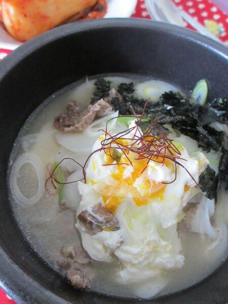 韓国のお雑煮!トック(떡국)のレシピ