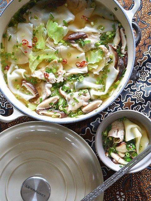 レシピ 鍋 水 人気 餃子