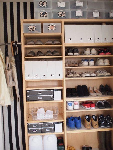 達人が教える収納】100均も使える!靴の収納アイデア25選