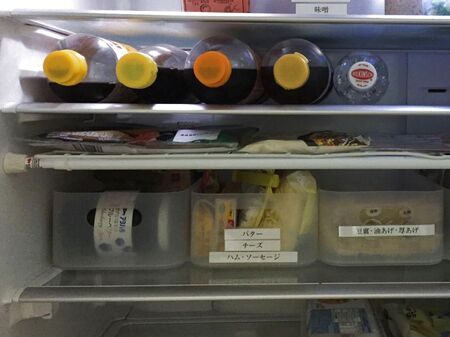 置いて&掛けて、冷蔵庫の収納力アップ!