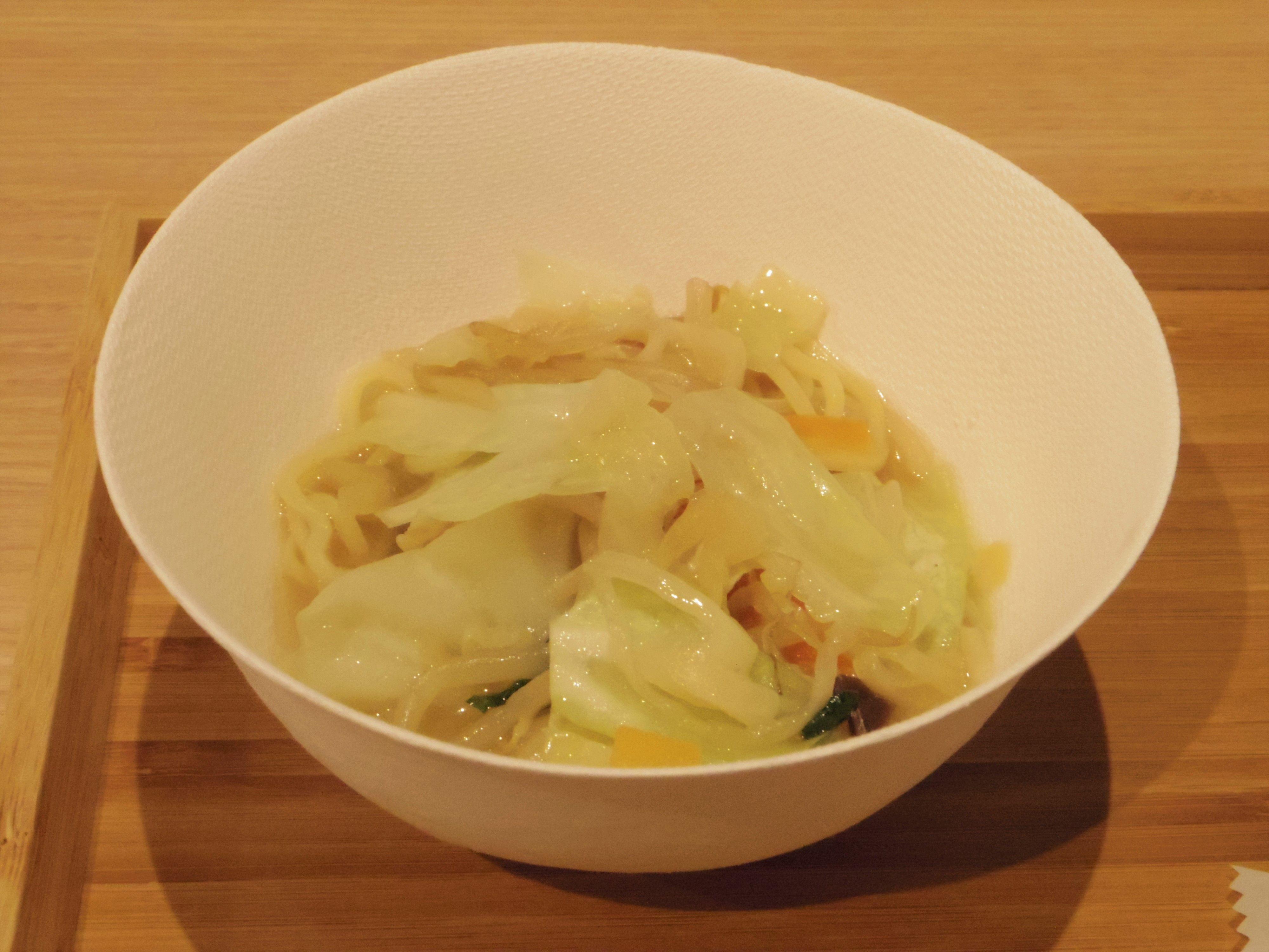 熟成中華麺 野菜盛りタンメン