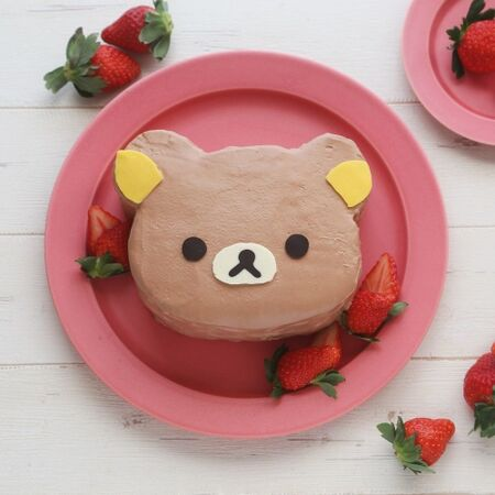リラックマケーキの作り方お誕生日やクリスマスにも 暮らしニスタ