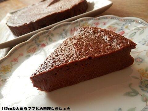 ケーキ 簡単 チョコレート