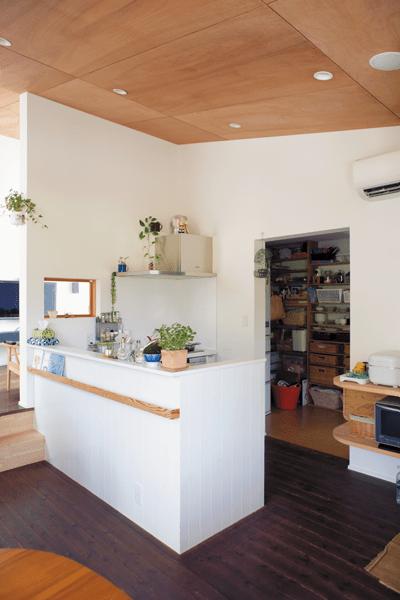 ペニンシュラ型キッチン
