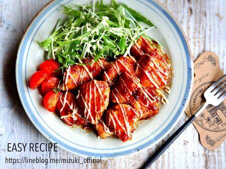 ♡鶏むね肉de超簡単♡マヨがけチキン南蛮風♡【#時短#節約#甘酢】