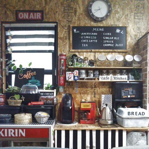 キッチン壁を再リメイク 低コストosb合板で男前な板壁に 暮らしニスタ