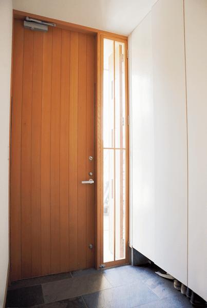 扉を閉めたまま通気できる玄関