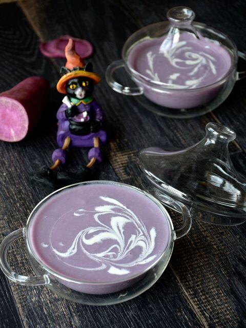 スープ 紫 玉ねぎ