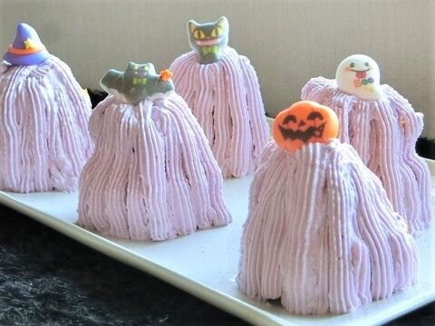 午後の紅茶でハロウィンレシピ 濃厚かぼちゃケーキ 作りました 暮らしニスタ