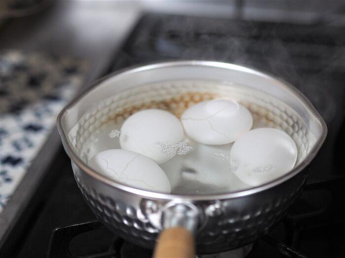 卵 ゆで 電子 レンジ