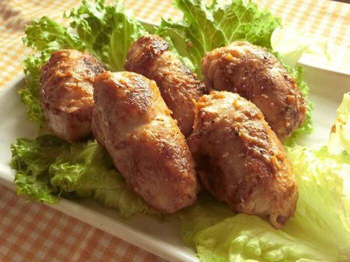 里芋の豚肉包み焼き
