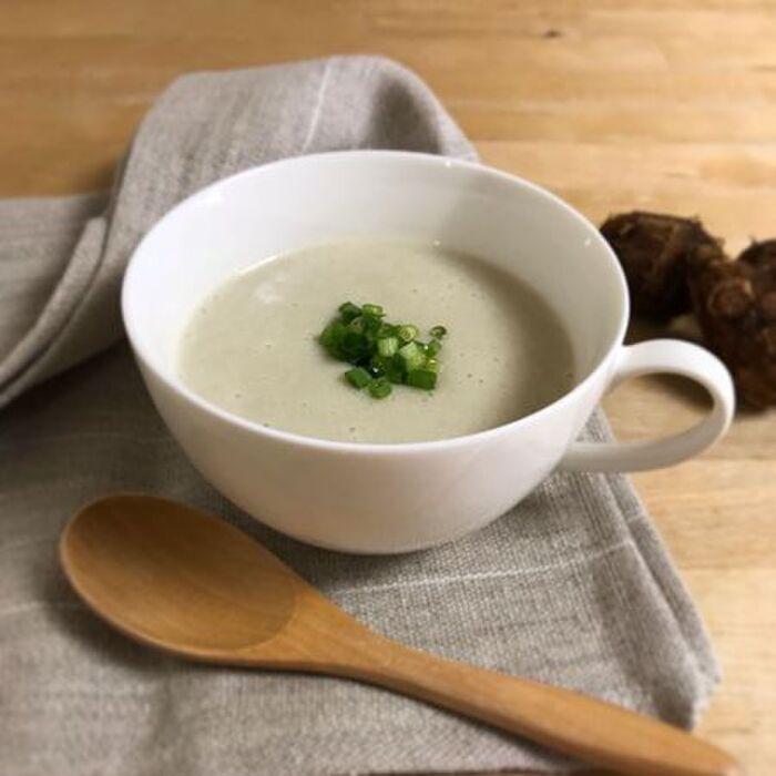 里芋と豆乳ポタージュ