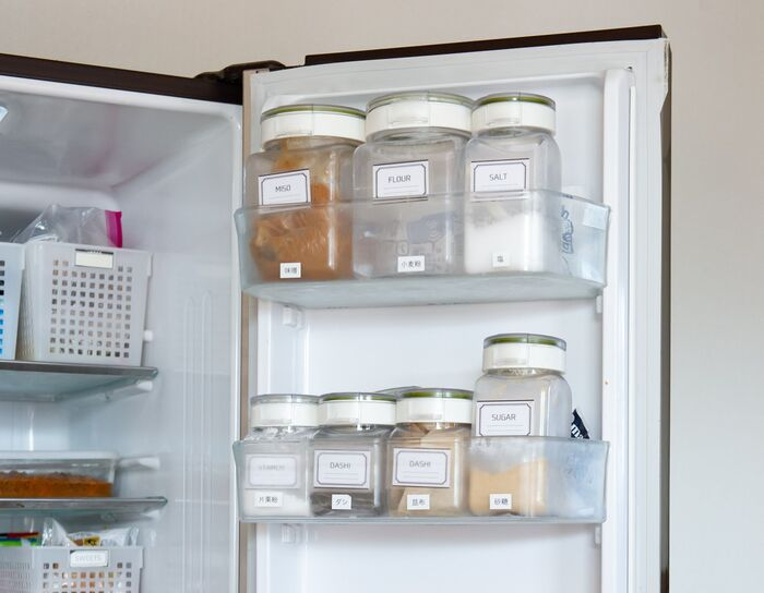 冷蔵庫 小麦粉