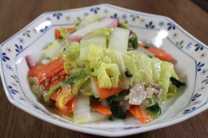 白菜の炒め料理
