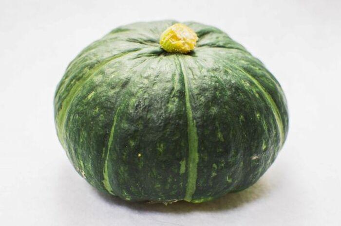 まるごと1個のかぼちゃ