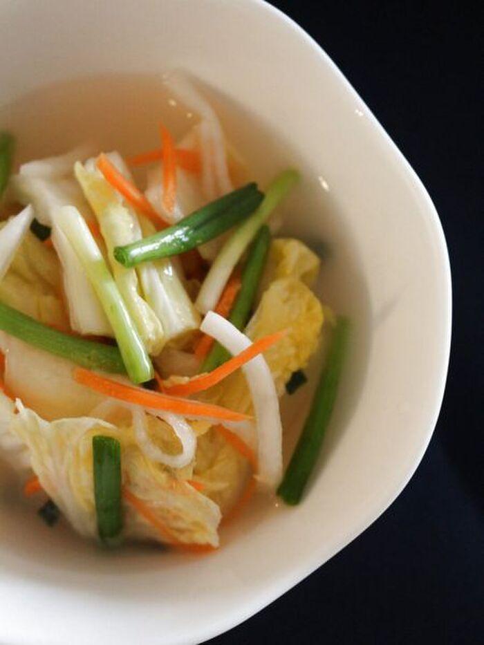 白菜水キムチ
