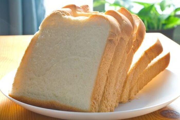 スライスされた食パン