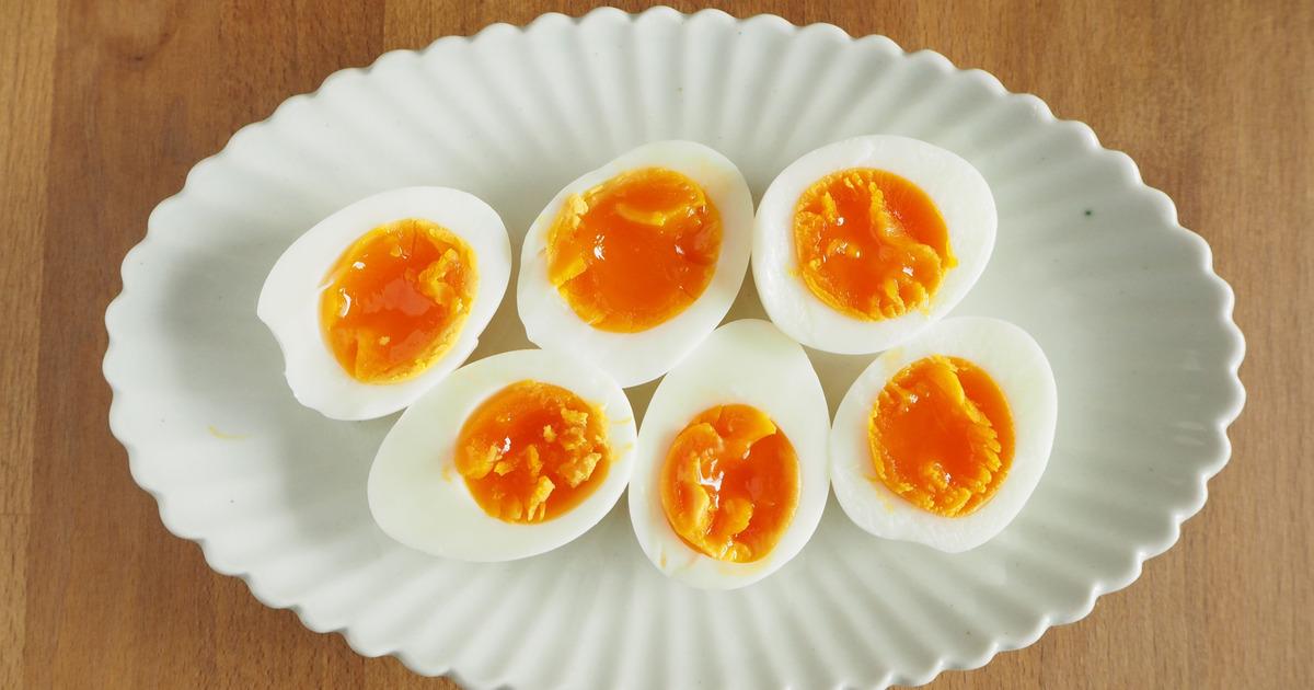 ゆで 卵 冷やす 時間
