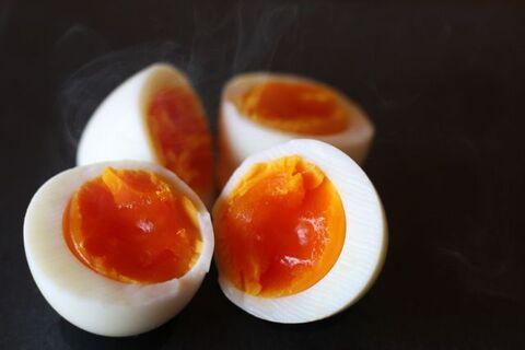 茹で 卵 固め