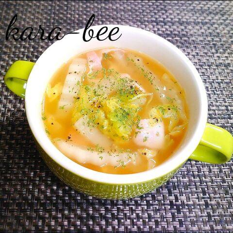 スープ 白菜 ベーコン 【みんなが作ってる】 白菜