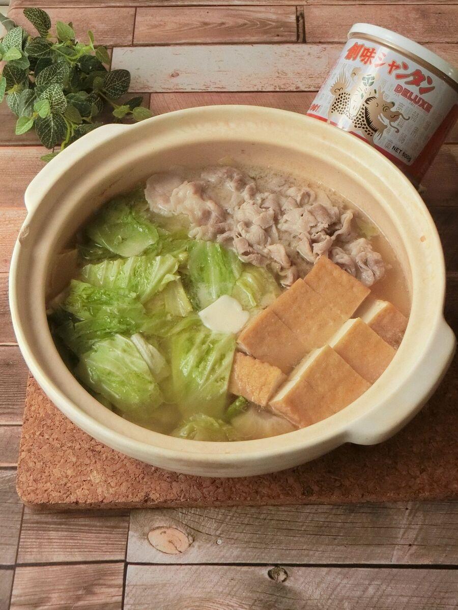 材 味噌 鍋 具