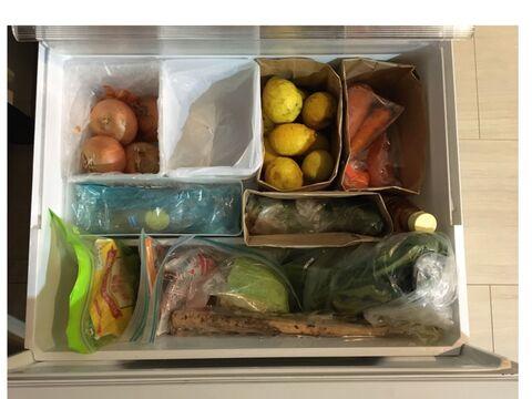 紙袋 野菜 室 ジャングルになりやすい野菜室を仕分けてスッキリ収納!