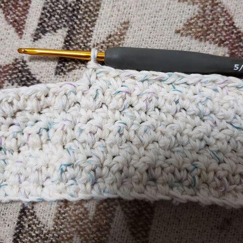 かぎ 編み マスク 編み 図