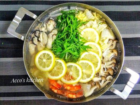 レモン 鍋 レシピ